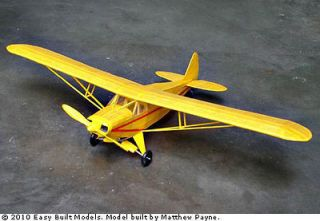 Piper Super Cruiser Easy Built #LC03 Balsa Wood Model Airplane Kit