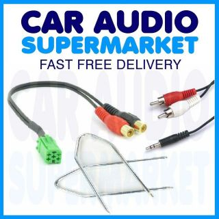 RENAULT GRAND SCENIC AUX  iPOD iPHONE INPUT ADAPTOR LEAD (UPDATE
