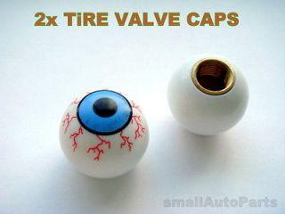 EYE BALL Tire/Wheel Stem Valve CAPS Covers for Motorcycle Bike ATV