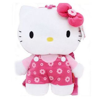 NWT Sanrio Hello Kitty Pink Soft Plush Backpack Bag   3 Styles