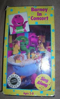 BARNEY & FRIENDS BLACK VHS CHILDRENS VIDEO TAPE 1991 BARNEY IN