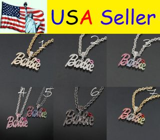 barbie necklace in Jewelry & Watches