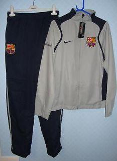 3216 NIKE BARCELONA FOOTBALL CLUB FULL TRACKSUIT SIZE SMALL MENS