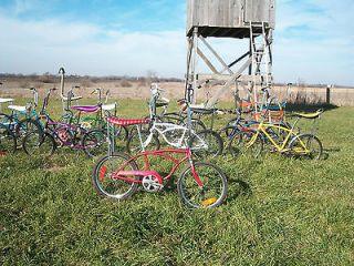 Vintage 1977 Schwinn Stingray Muscle Bike Bicycle Banana Seat