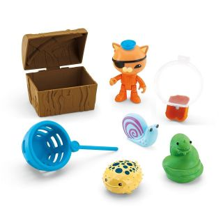 OCTONAUTS === Kwazii & the Slime Eel Figure Playset === MATTEL