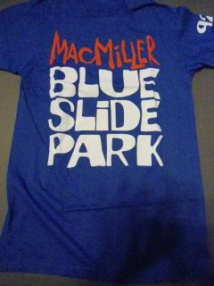 MAC MILLER Blue Slide Park T Shirt **NEW tour concert band music