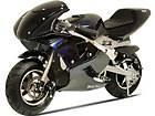 kids battery powered ride on toy black motorcycle mini pocket ninja