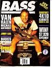 Bass Player Magazine November 1995 6/7 Van Halen  Michael Anthony