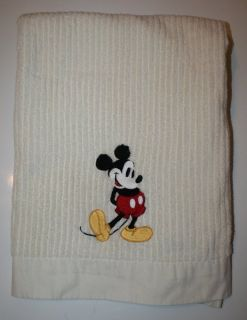CLASSIC MICKEY MOUSE BATHROOM TOWEL BATH CREAM