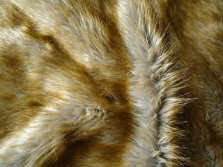 HUGE Large dark Brown shaggy Faux teddy Bear Mink Fur Rug Throw bed