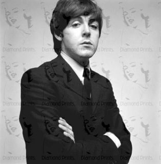 COOL RARE Paul McCartney Beatles David Bailey Photo