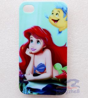 Disney Princess Ariel The Little Mermaid Back Case Cover for iPhone 4