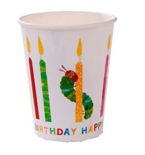 The Very Hungry Caterpillar Themed Childrens Birthday Party Paper Cups