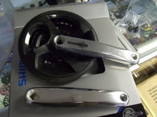 SHIMANO ALTUS FC M131 170MM 24T/34T/42T W/CG SILVER BICYCLE CRANK