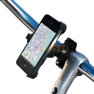 Black Bicycle Bike Handlebar Phone Mount Holder Cradle for iPhone 4 4G