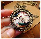 Vintage Style Fashion Necklaces Lovely Birds Pictures Pendants FREE