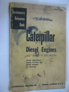 CATERPILLAR D8800 IND, D7 TRACTOR, 5 3/4 BORE 4CYL DIESEL ENGINE