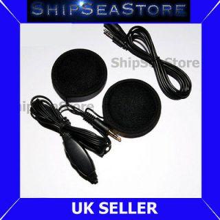 Motorcycle Sports Helmet Stereo Earphones Speakers for  player iPod