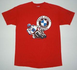 Coast Riders Daytona 200 Bike Week 1991 T Shirt Motorcycle Racing