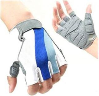 Sports Cycling Bicycle Half Finger Gloves Bike Road Street Glove M L