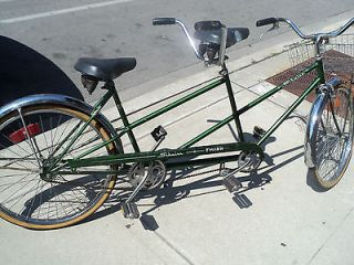 Schwinn Twinn Tandem Bicycle 1973, Chicagos original, BICYCLE for TWO