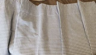 blue gingham curtains in Curtains, Drapes & Valances