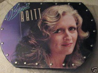 Record Purse Tote Bag, Bonnie Raitt, The Glow