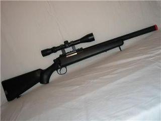 1X Bolt Action Airsoft Sniper Gun 9 X Magnify 500 FPS