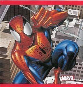 MARVEL COMICS SPIDERMAN PEEL N STICK WALL PAPER BORDER