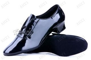 2012 Mens dance shoe Black Shoes Rock Retro Dance Swing Club Costume