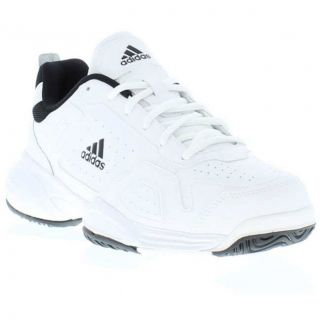 Genuine Ambition Logo Mens Tennis Shoes White Black Sizes UK 7 12
