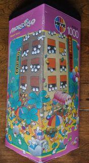 MORDILLO Beach Hotel HEYE 1000 piece puzzle   incomplete
