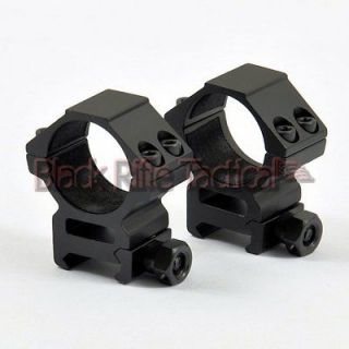Black Rifle Tactical Medium Profile 30mm Scope Rings Weaver/Picatinny