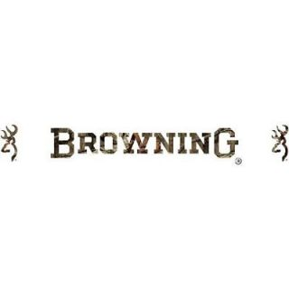 BROWNING BUCKMARK MOSSY OAK WINDSHIELD GRAPHIC LOGO DECAL   CAR, TRUCK