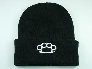 Hat 328 Beanie Ski Brass Knuckles Fighting Cap Hat