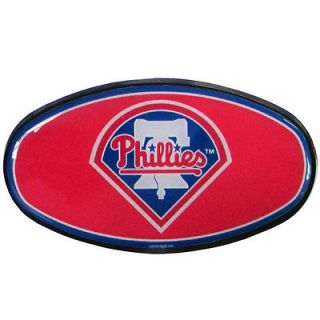 PHILLIES 2 plastic trailer hitch cover with domed team insert MLB