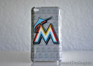 Marlins Baseball Apple iPod Touch 4th Gen Case Cover 8 32 64 GB