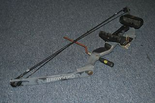 BROWNING SUMMIT II COMPOUND BOW HUNTING SUSA2 USED GOOD CONDITION FREE