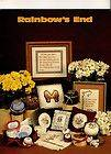 Cross Stitch Book   Rainbows End   Butterfly, Nature and Flowers