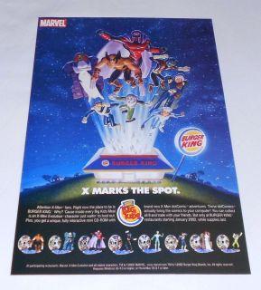 burger king x men in Toys & Hobbies