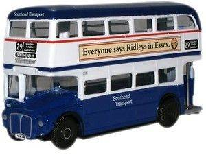 South End Essex Double Decker Bus Route Master OO Oxford Die cast