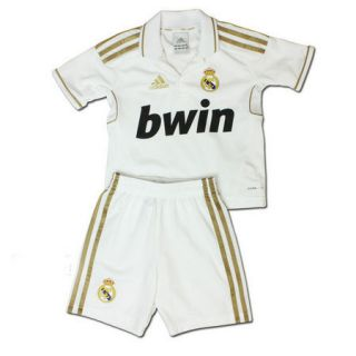 Real Madrid Home Mini Kit Shorts Jersey Adidas 11/12 Toddler Little