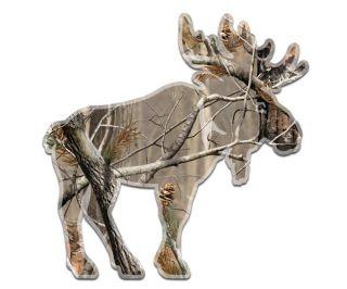 Camo Moose Camouflage Bow Hunter Wall Car Vinyl Sticker Decal M1 GRV