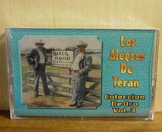 Newly listed Los Alegres de Teran Exitos de Oro Vol 3 1999 ROYSALES