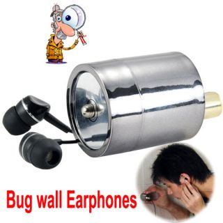 Amplifier Wall Device Audio Listening Wiretap mini Bug for Next Room