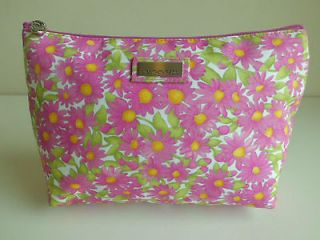 Jim Thompson  Luxury Makeup & Cosmetic Bag vintage floral style 100%