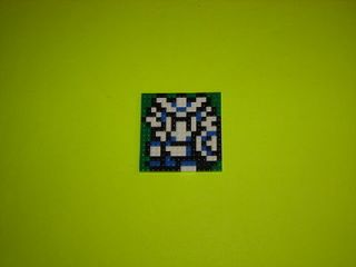 Custom Lego Set Nes Dragon Warrior for display on Desks and Tables P
