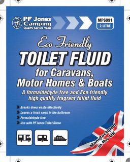 Litre Toilet Fluid Chemical Caravan Camping Portable