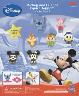 WALT DISNEY MICKEY MOUSE & FRIENDS SERIES 2 MINI FIGURE CAKE TOPPERS