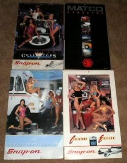 SNAP ON Tools 1987 1988 1989 Collectors Edition Calendars Sexy Car